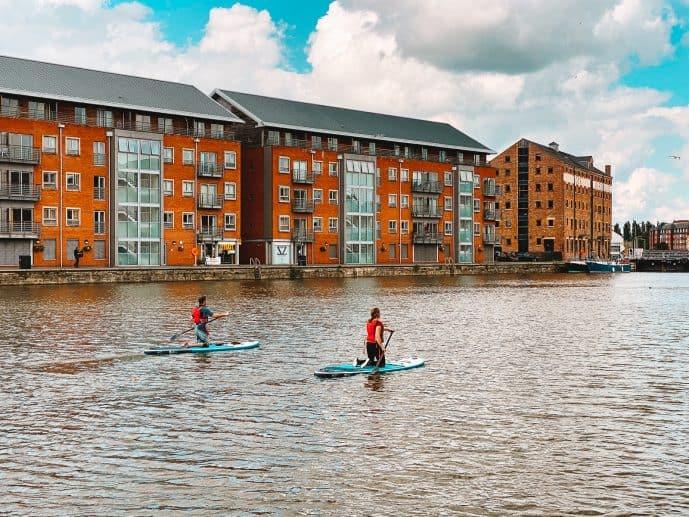 Gloucester Docks Paddling