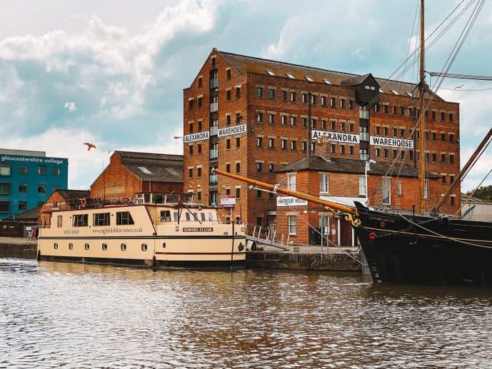 Gloucester docks Boat trips