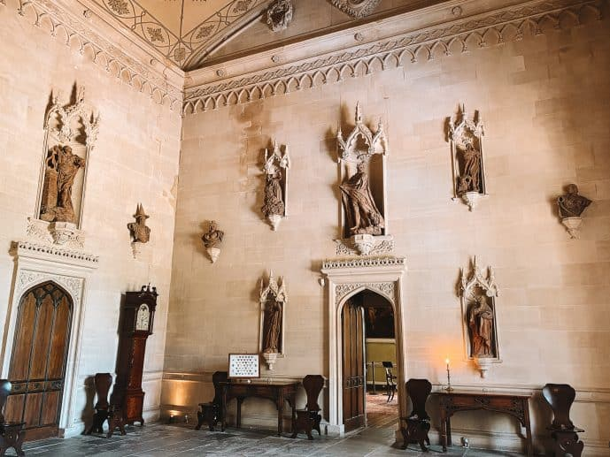 Lacock Abbey Hall