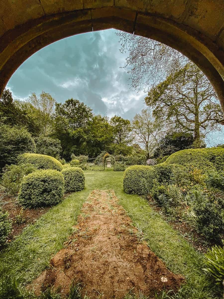 Lacock pleasure gardens