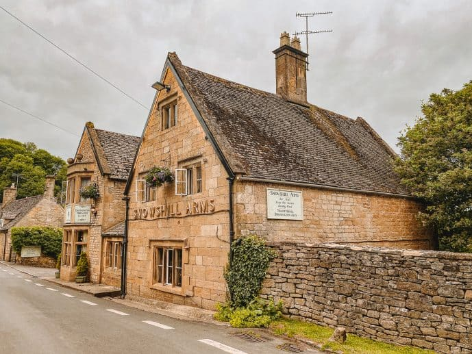 The Snowshill Arms Cotswolds