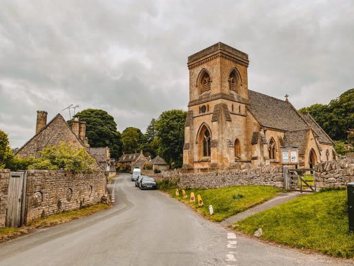 St Barnabas Church Snowshill Cotswolds
