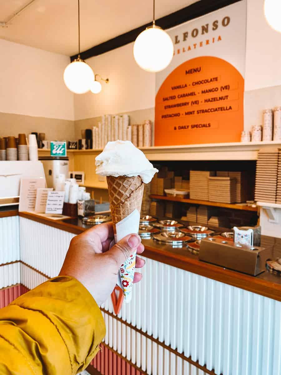 Best Ice cream in Woodstock Alfonso Gelateria Woodstock