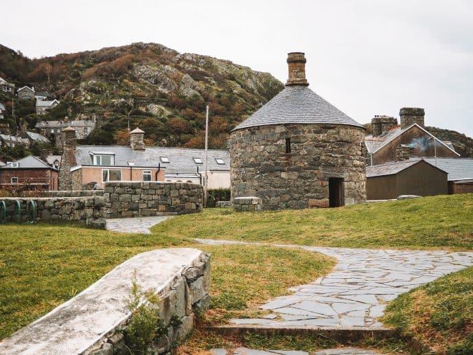 Barmouth Roundhouse Jail Snowdonia