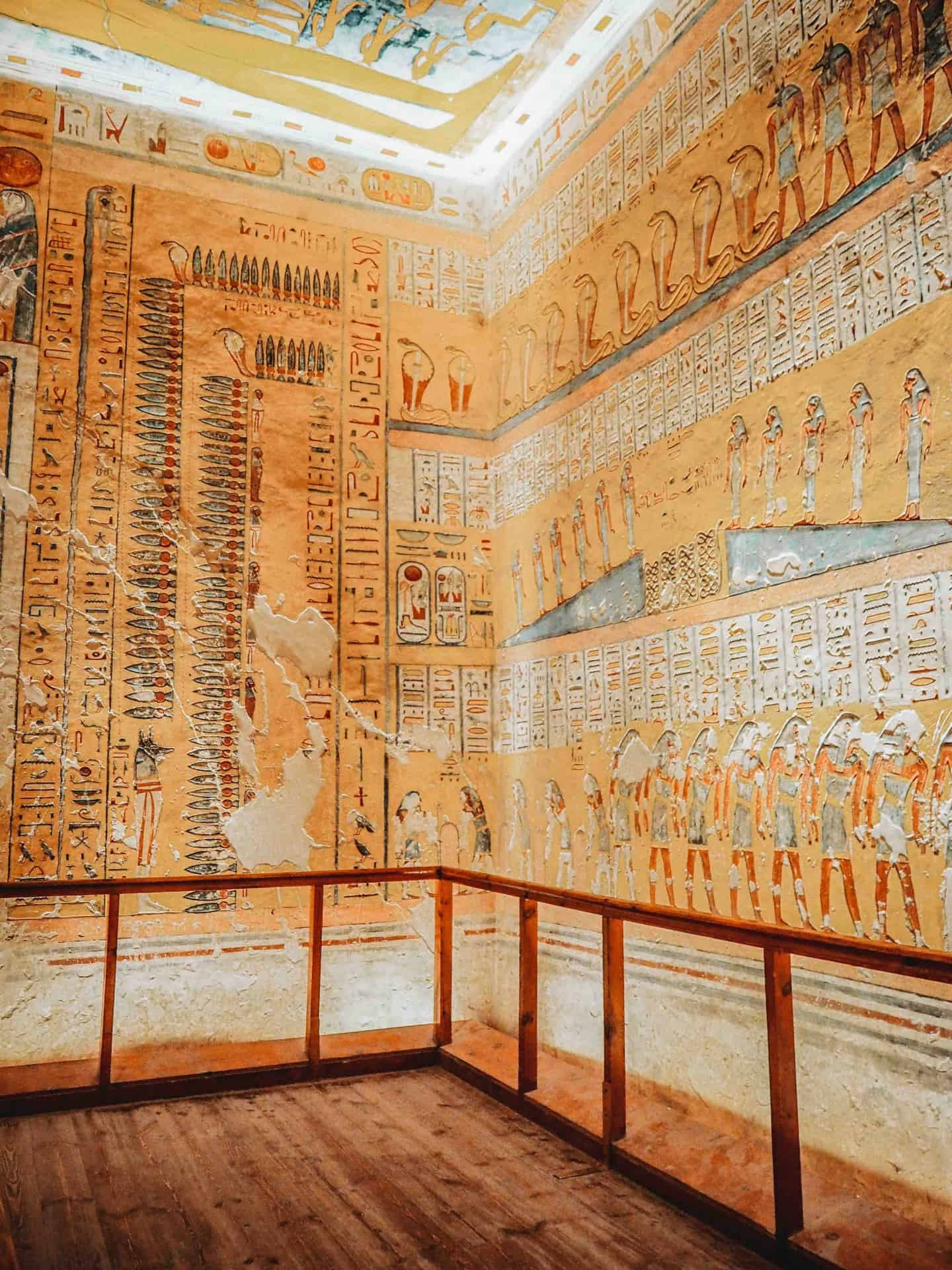 best tombs in valley of the kings