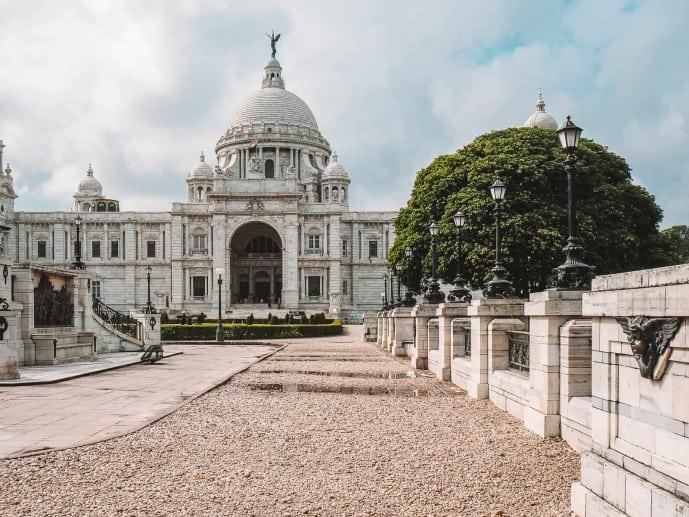 Victoria Memorial Gardens Kolkata