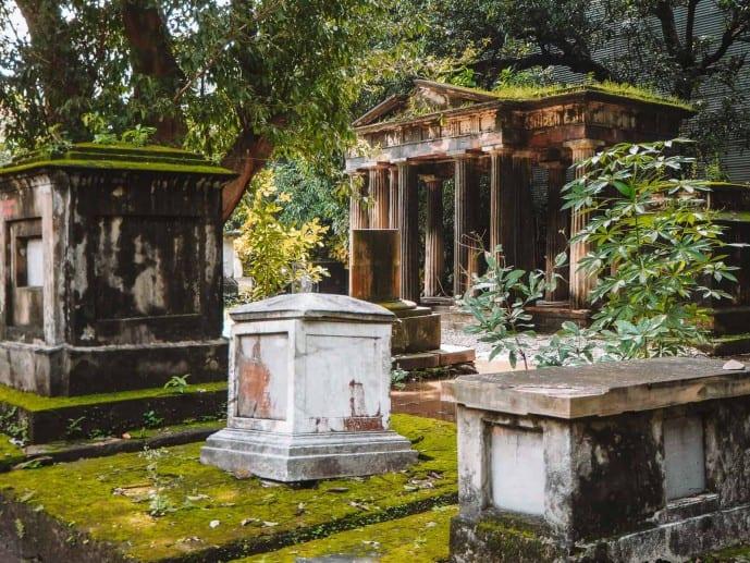South Park Street cemetery Kolkata
