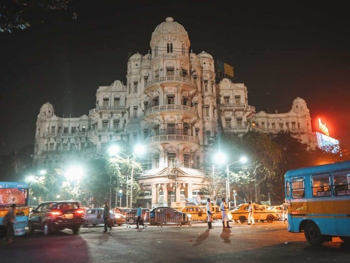 Kolkata at night