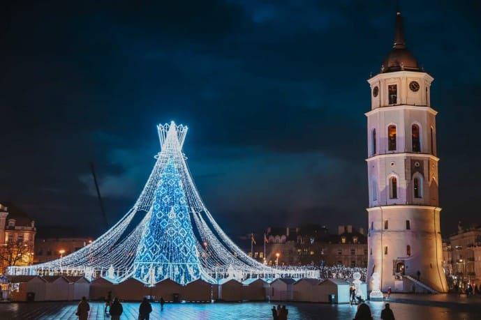 Vilnius Christmas Tree | Vilnius Christmas Market