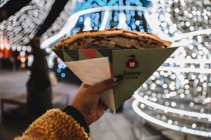 Crepe at Vilnius Christmas Market