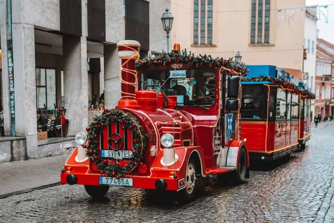 Vilnius Christmas Train