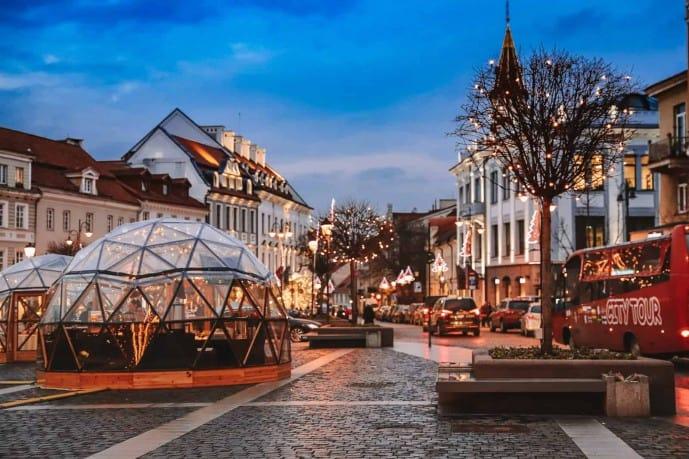 Vilnius in December
