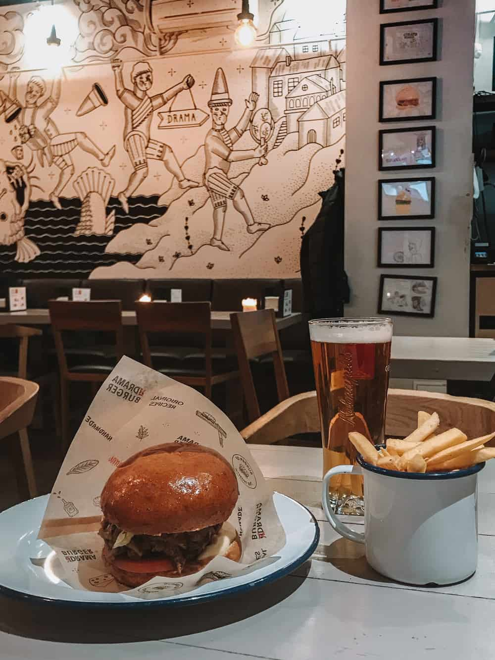 Drama Burger Vilnius | Where to Eat in Vilnius