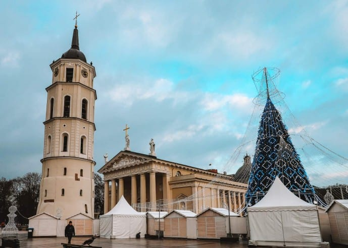 Cathedral Square Vilnius | Photo spots in Vilnius | Viewpoints in Vilnius