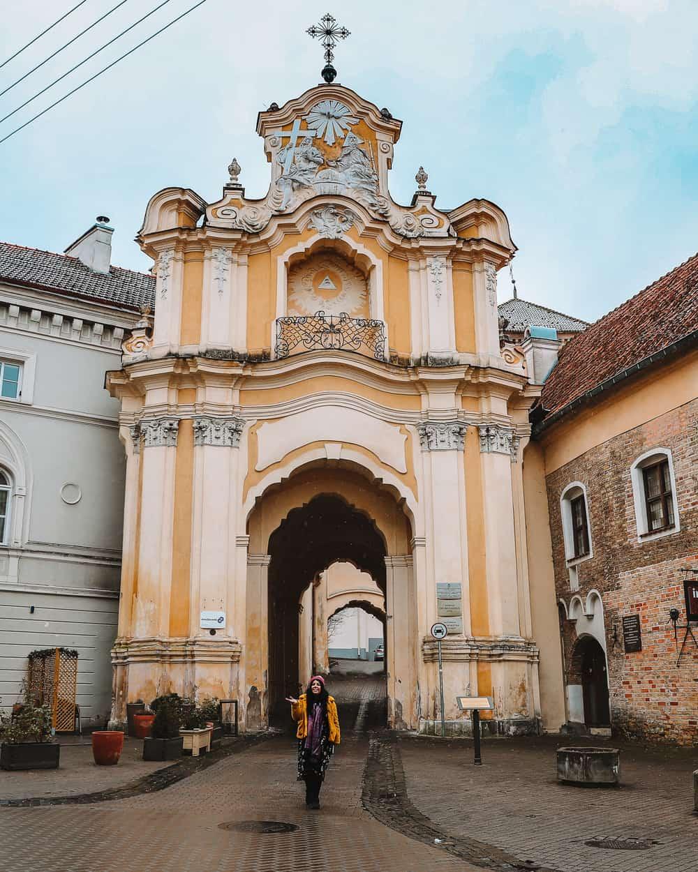 Basilian Monastery Vilnius | Instagram Spots in Vilnius