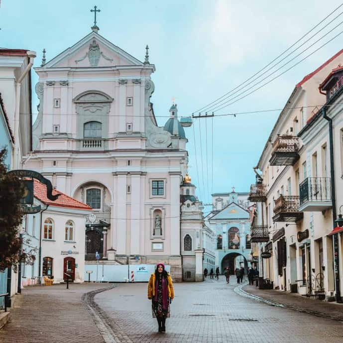 Ausros Vartu Street photos | Instagram spots in Vilnius