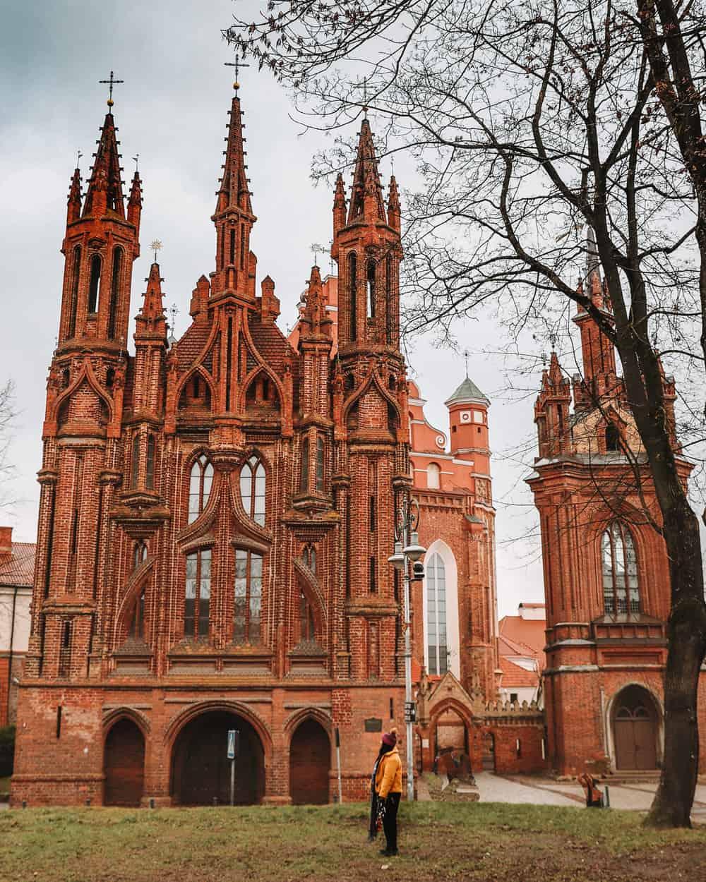 St Anne's Church Vilnius | Instagram Spots in Vilnius