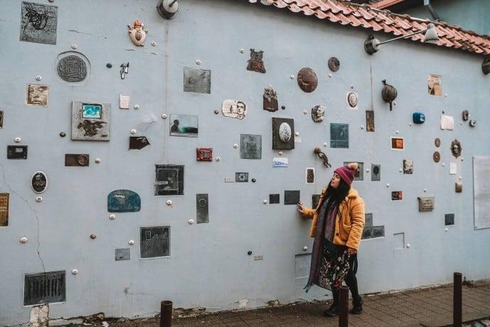 Literatu Street | Instagram spots in Vilnius