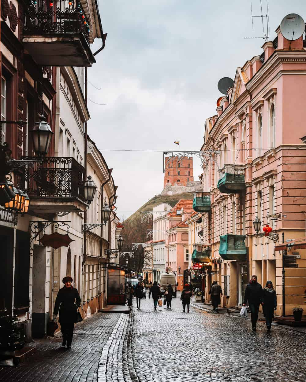 Pilies Street Vilnius | Photos spots in Vilnius