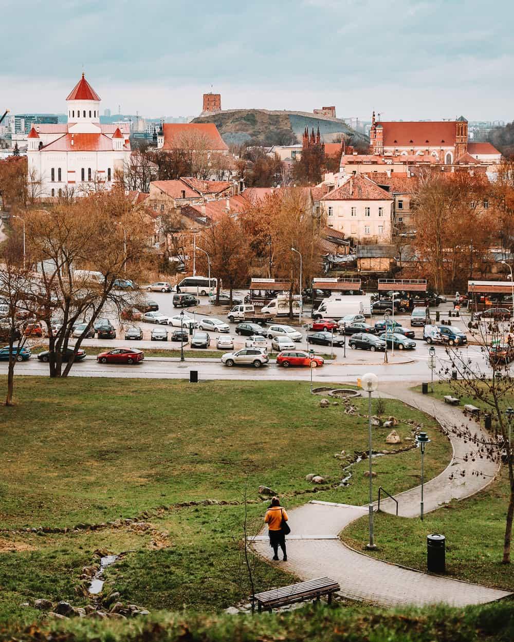 Vilnius City Bastion Viewpoint | Viewpoints in Vilnius