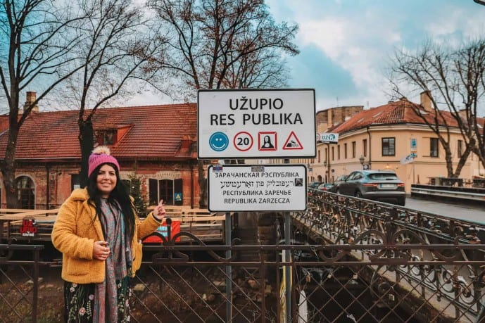 Republic of Uzupis Sign | Things to do in Uzupis