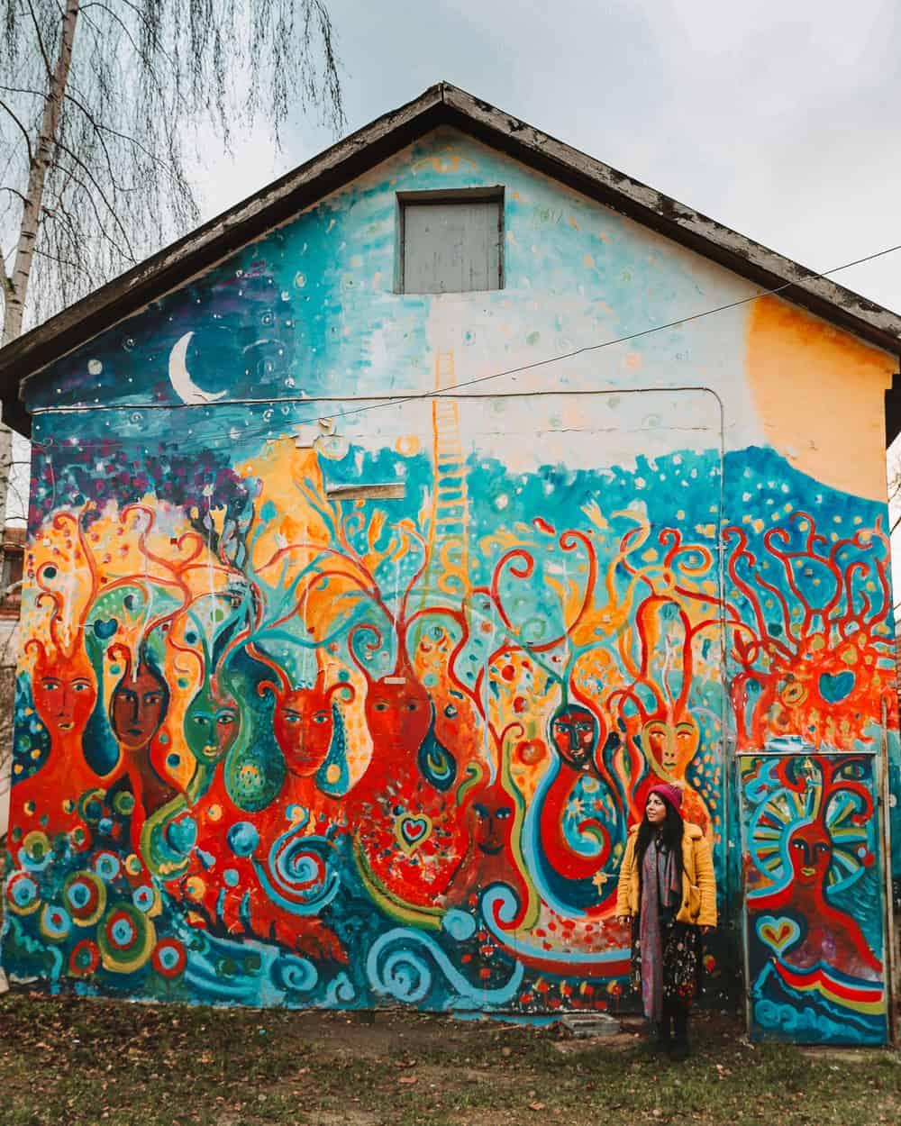 Street Art in Uzupis | Art Incubator | Instagram Spots in Vilnius