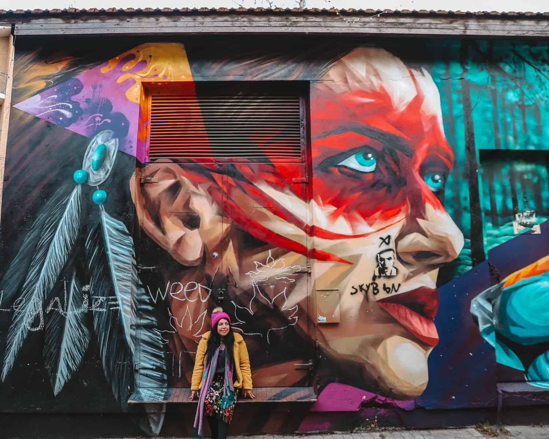 Republic of Uzupis Street Art | Instagram Spots in Vilnius | Things to do in Uzupis