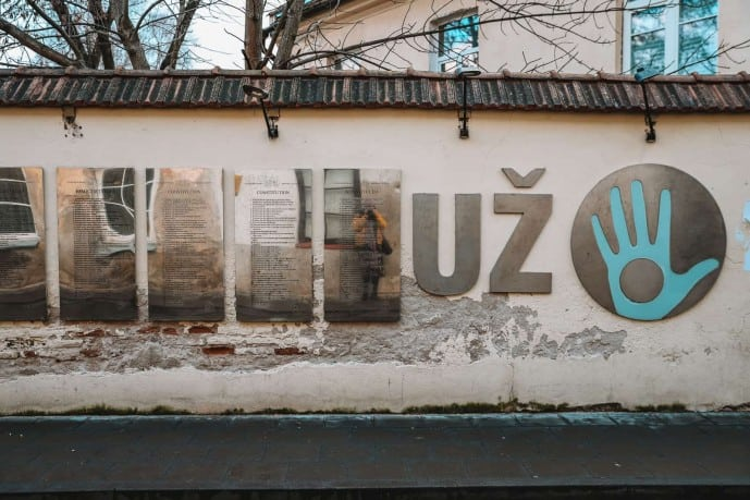 The Uzupis Constitution | Top things to do in Uzupis