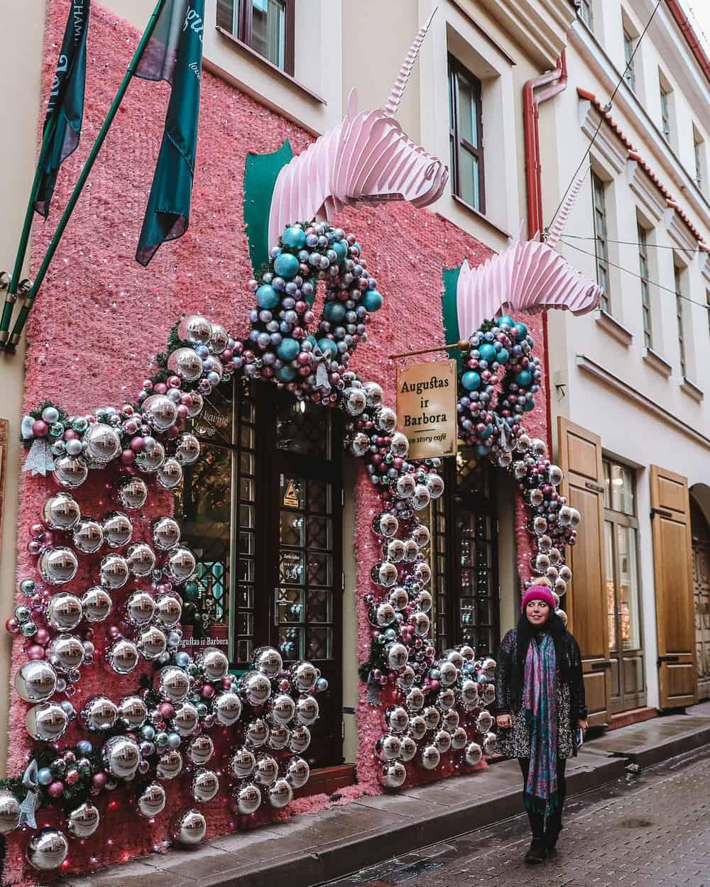 Augustas ir Barbora Love Story Café | Instagram cafe in Vilnius