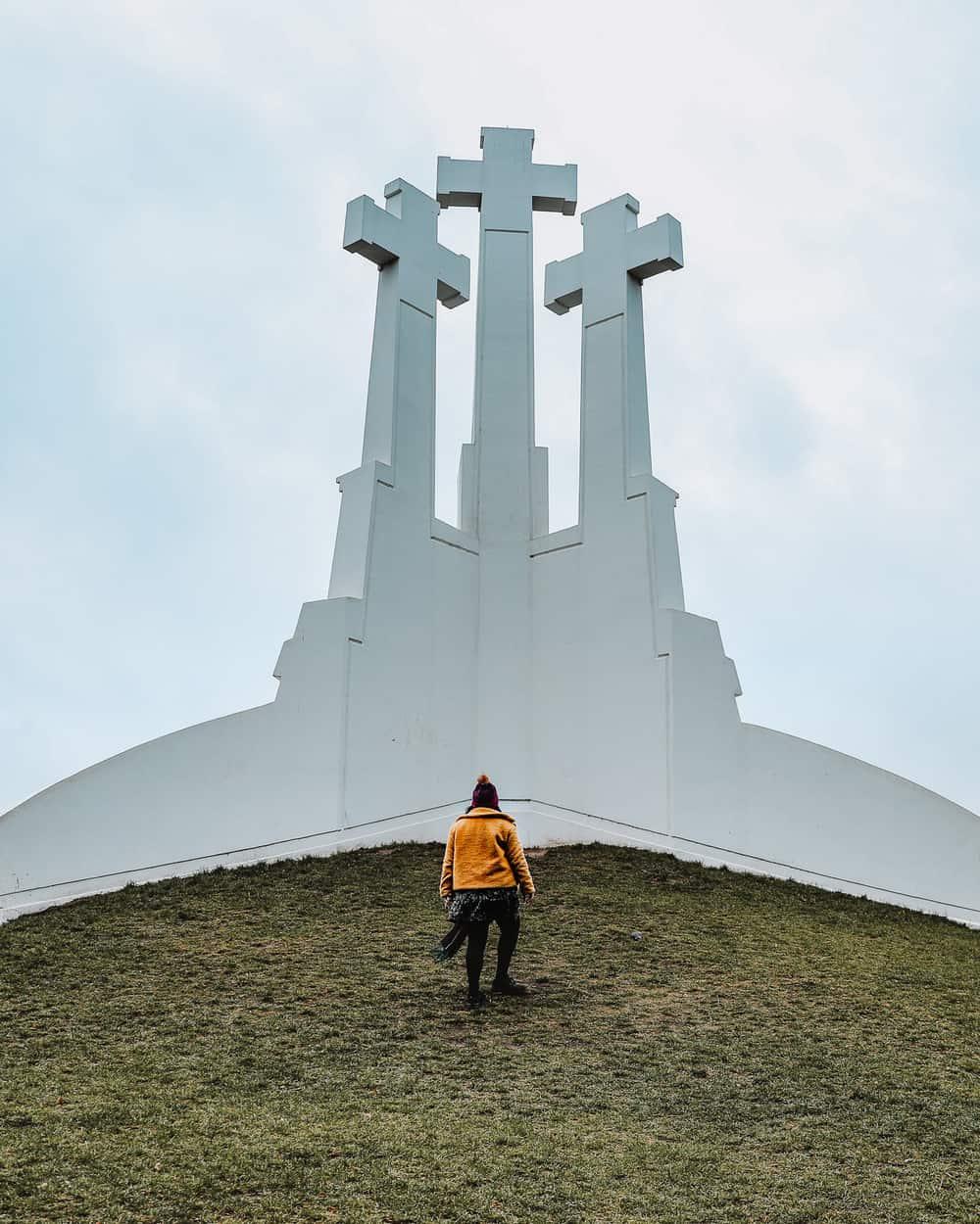 Three Crosses Hill Vilnius | Instagram Spots in Vilnius
