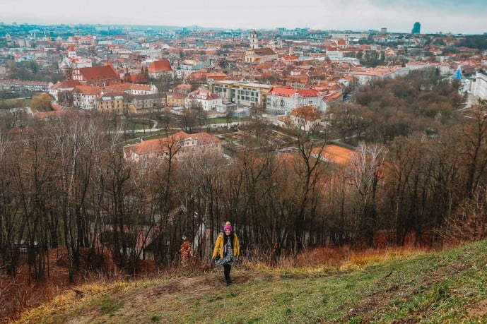 Instagram spots in Vilnius | Three Crosses Hill