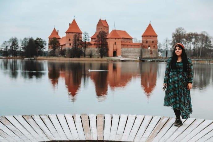 Trakai Castle | Trakai Island Castle | Instagram spots in Vilnius | Things to do in Trakai