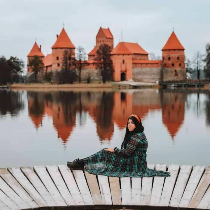 Trakai Castle | Instagram Spots in Vilnius Lithuania