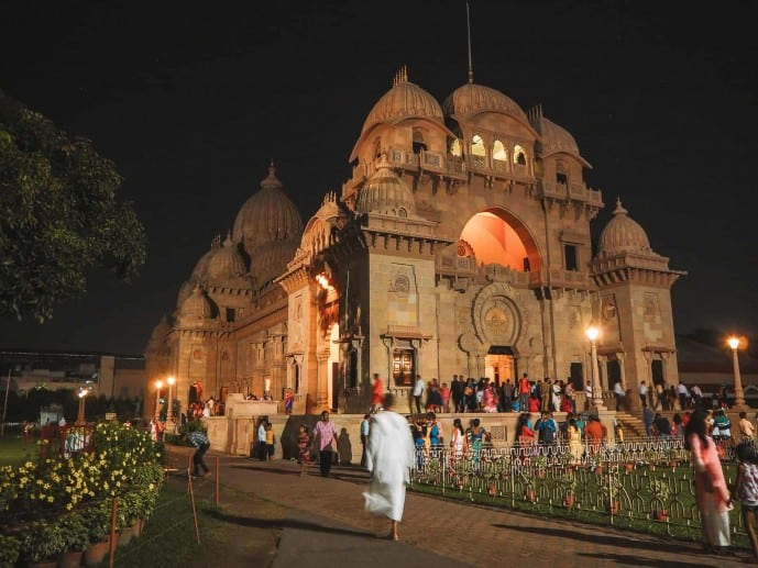 Shri Ramakrishna Temple in Belur Math Kolkata