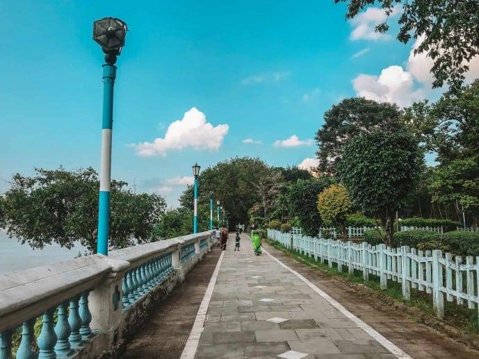 Millennium Park in Kolkata