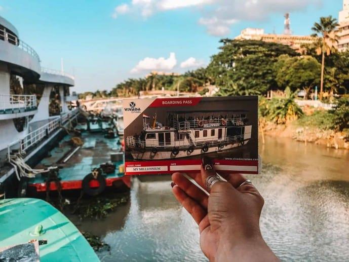 Vivada Cruise boarding pass