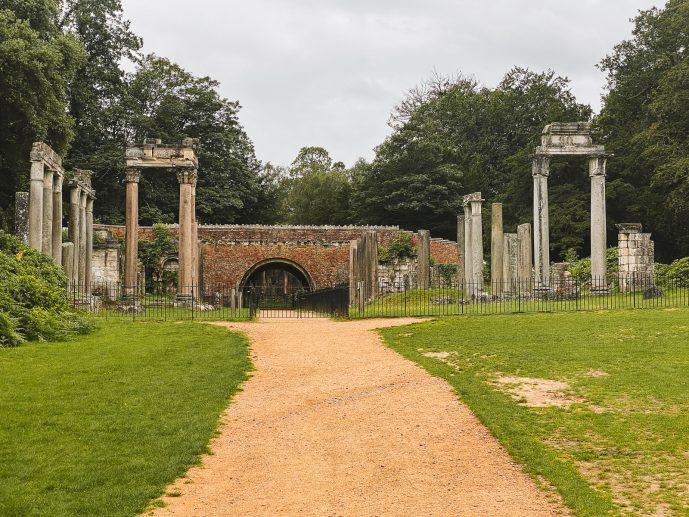 Virginia Water Roman Ruins Leptis Magna