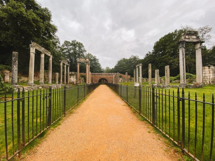 Virginia Water Roman Ruins Leptis Magna Ruins
