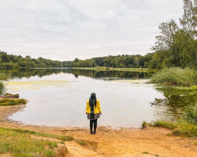 Virginia Water Harry Potter filming location Hogwarts Lake Harry Rides Buckbeak