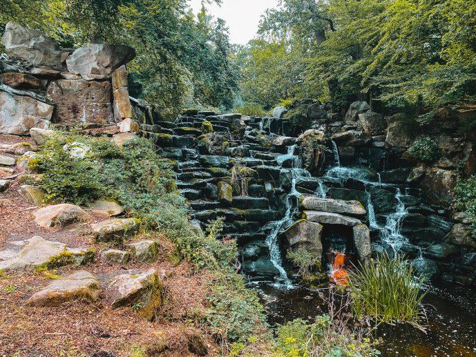 Virginia water cascade
