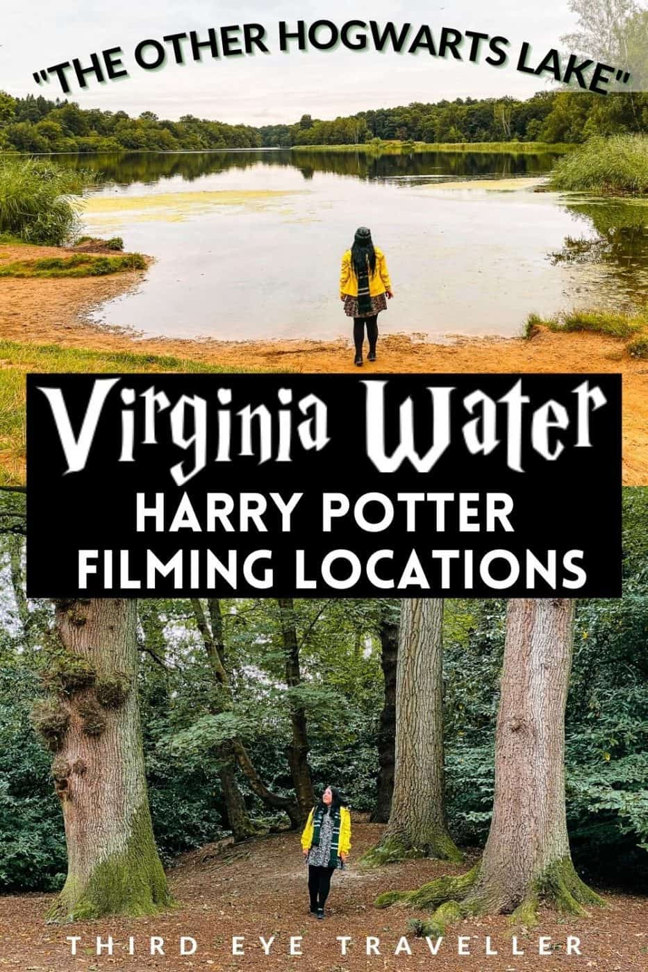 Virginia Water Harry Potter filming locations