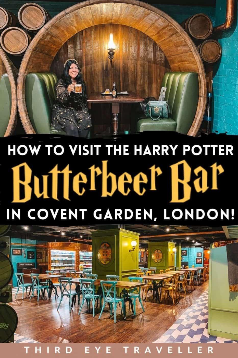 Harry Potter Butterbeer Bar in London