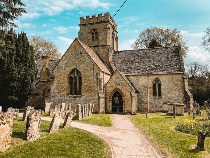 St Kenelm's Church Minster Lovell