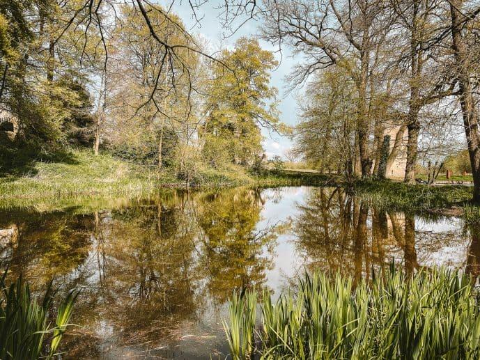 Minster Lovell Hall Fish Pond