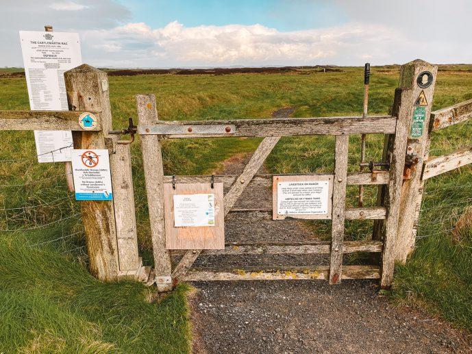 Castlemartin Range Pembrokeshire