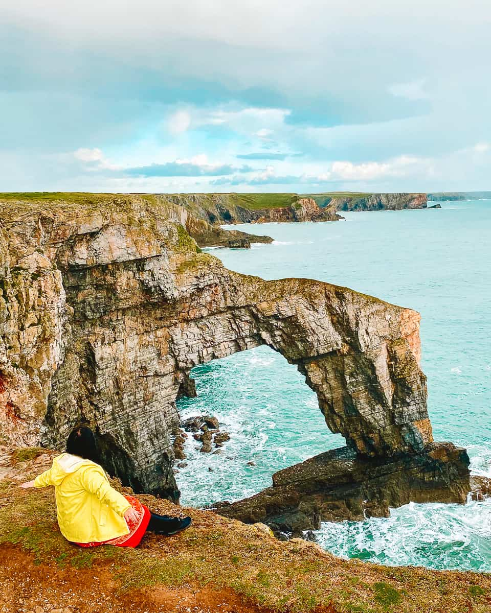 How to visit the Green Bridge of Wales Pembrokeshire