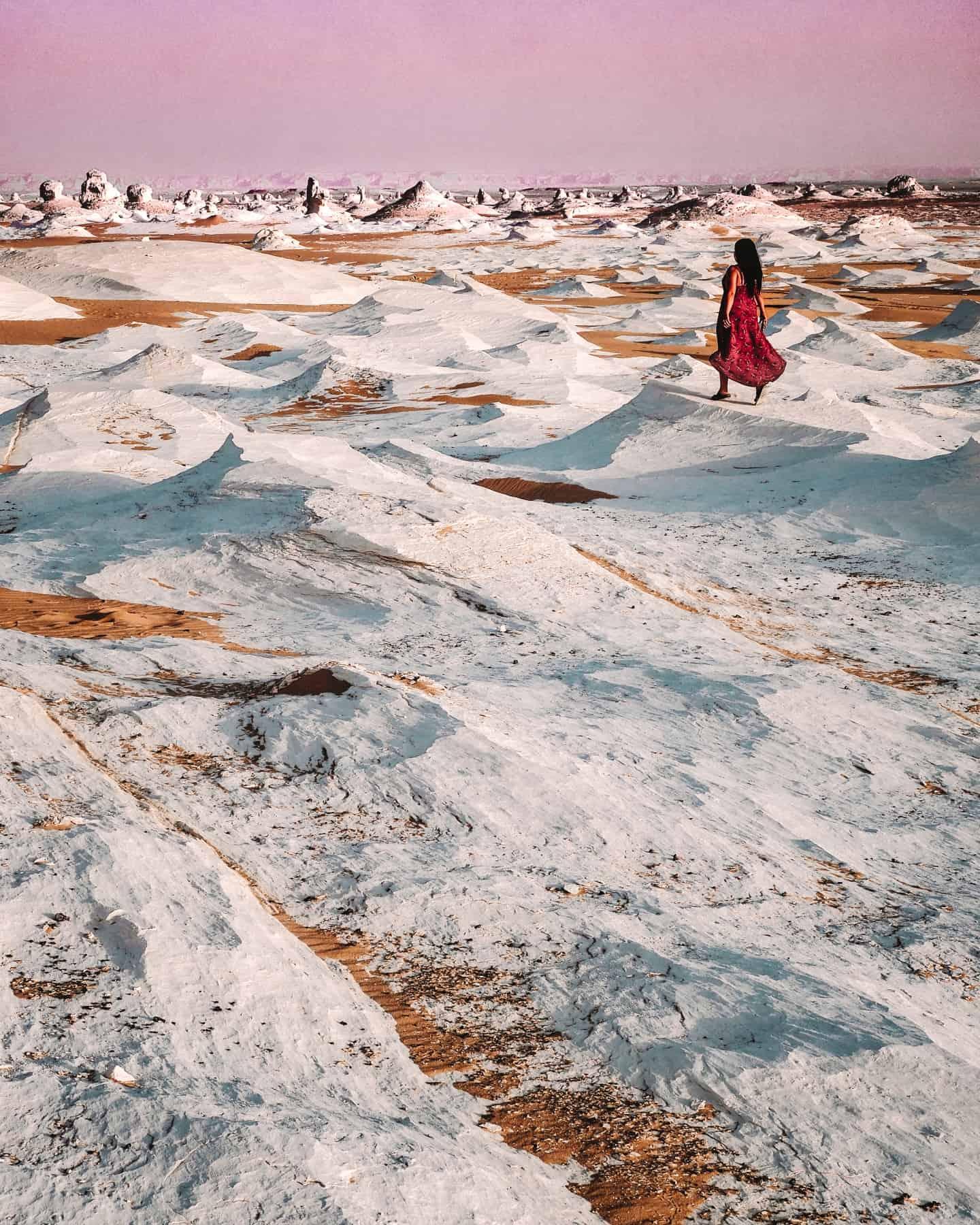 White Desert in Egypt | western desert tours egypt