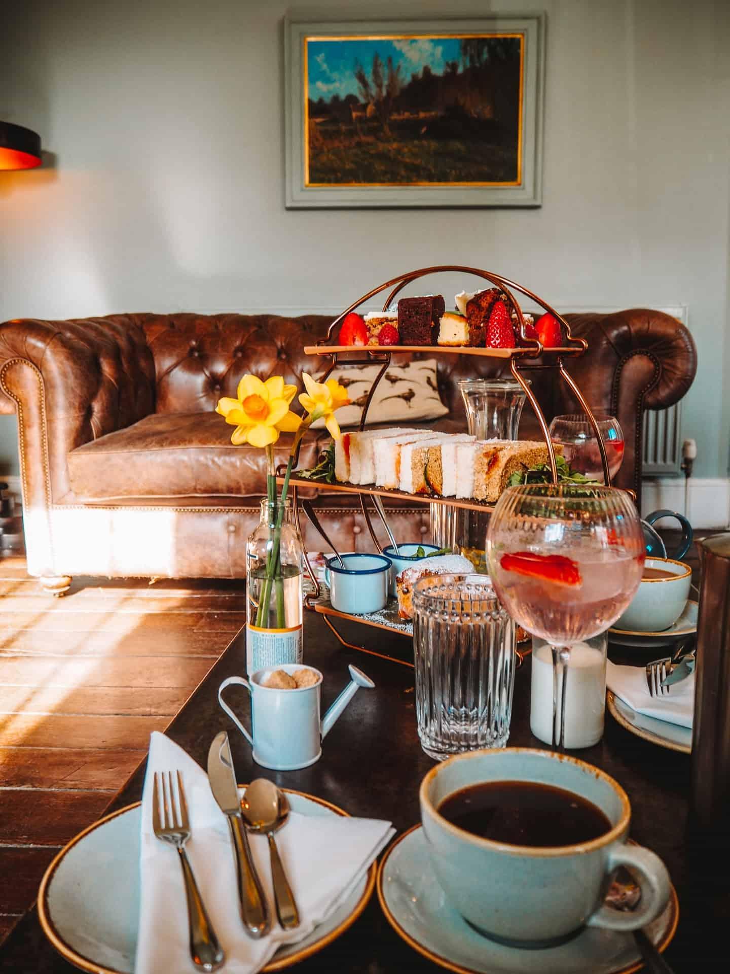 widbrook grange afternoon tea review