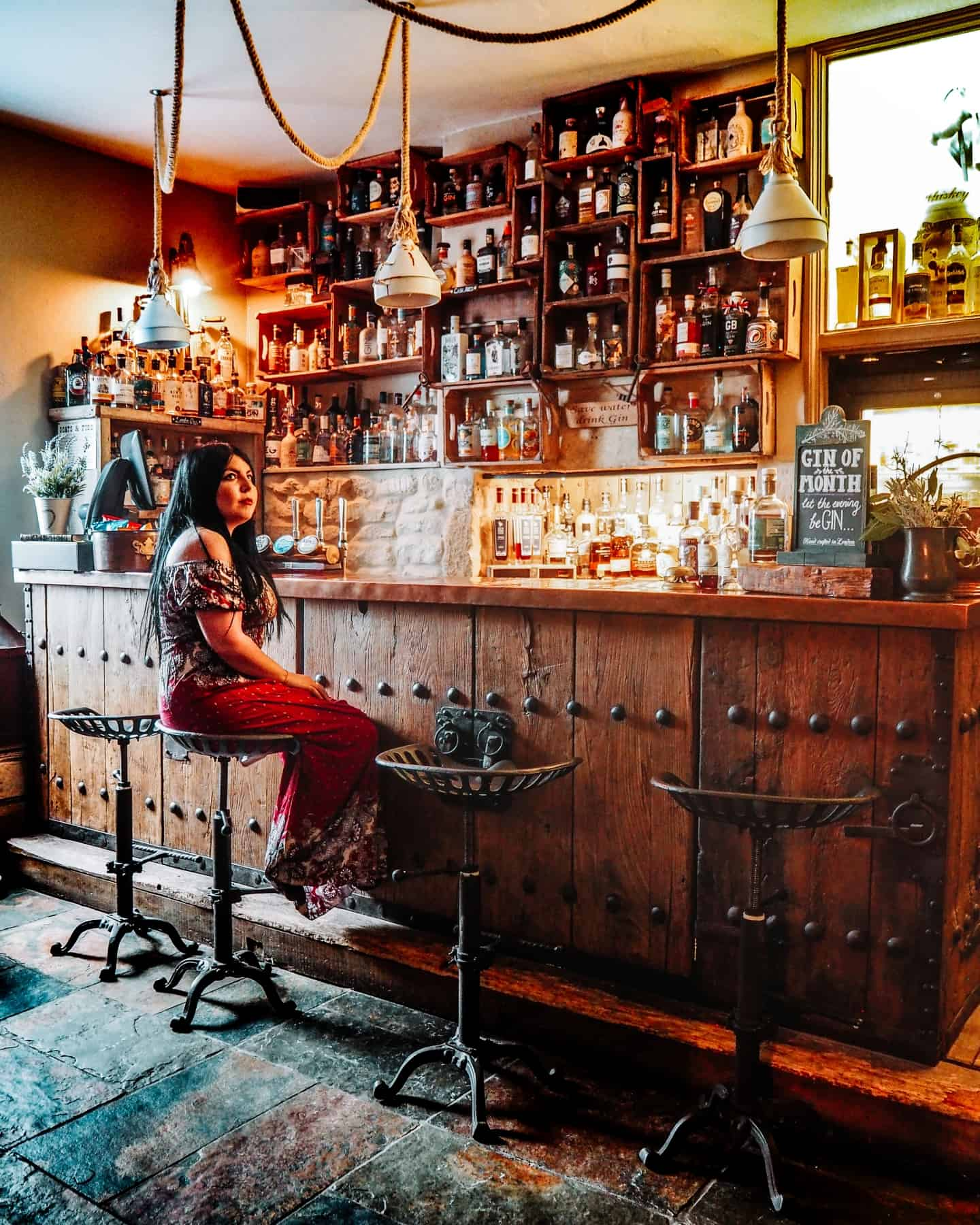 widbrook grange gin bar