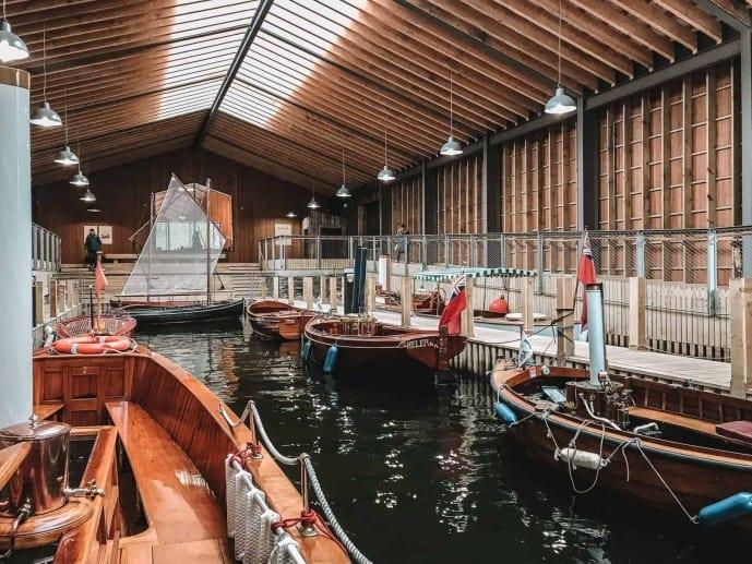Windermere Jetty Museum boathouse
